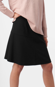 Boomerang - MUNTE INTERLOCK SKIRT - Black