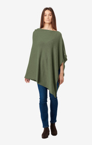 Boomerang - Twinkle poncho - Amazon green