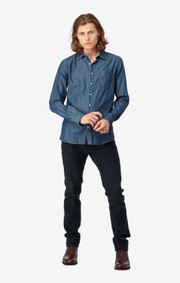Boomerang - Tor shirt tailored fit - Indigo