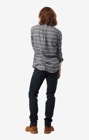 Boomerang - Svante Shirt Tailored Fit  - Lt grey melange