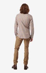 Boomerang - Elton shirt slim fit - Soleil
