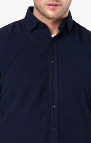 Boomerang - Arvid shirt tailored fit - Midnight blue