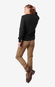 Boomerang - Pelle crew neck sweatshirt  - Black