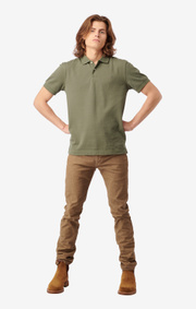 Boomerang - JOE ORGANIC COTTON POLO PIQUÉ - Amazon green