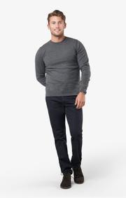 Boomerang - Noel crew neck sweater - Grey melange
