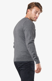 Boomerang - Noel crew neck sweater - Grey melange