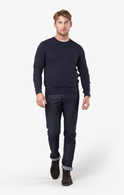 Boomerang - Noel crew neck sweater - Night sky