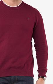 Boomerang - Noel crew neck sweater - Cabernet