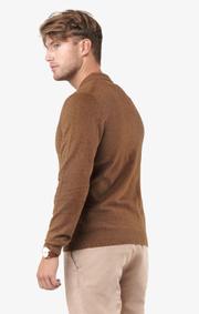 Boomerang - Simon polo sweater  - Cinnamon