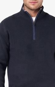 Boomerang - Melvin half zip sweater - Night sky