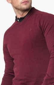 Boomerang - Danny v-neck sweater - Cabernet