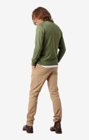 Boomerang - DANNY V-NECK SWEATER - Amazon green