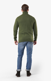 Boomerang - Esbjörn turtle neck sweater  - Amazon green