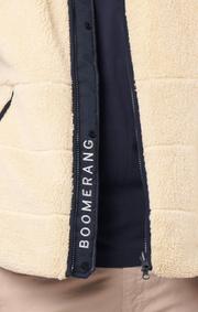 Boomerang - Jack reversible fleece gillet  - Sand
