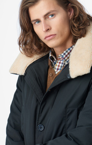 Boomerang - CONNY DOWN COAT - Night sky