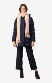 Boomerang - WOOL SCARF FARSTA - Chalk pink