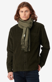 Boomerang - WOOL SCARF FARSTA - Amazon green