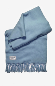 Boomerang - Wool scarf farsta - Blue dusk