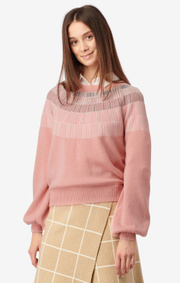 Boomerang - ASKUNGEN SWEATER - Pink lemonade