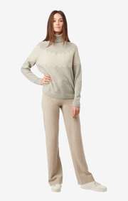 Boomerang - Snövit sweater - Grey melange