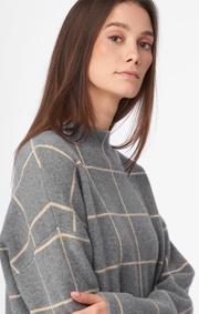 Boomerang - Luna sweater - Dk grey mela