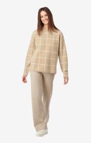 Boomerang - Luna sweater - Khaki beige