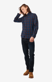 Boomerang - Blitzen shirt tailored fit - Dark Indigo