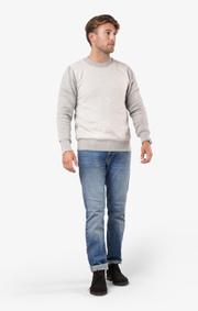 Boomerang - Rox sweater - Lt grey melange