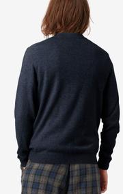 Boomerang - Butter logo sweater - Midnight blue