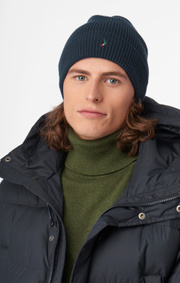 Boomerang - KLOKER KNITTED CAP - Midnight blue
