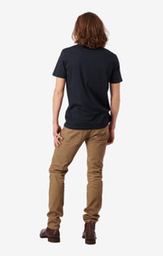 Boomerang - BASIC O-NECK ORGANIC COTTON T-SHIRT - Midnight blue