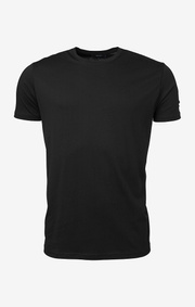 Boomerang - Basic o-neck t-shirt  - Black
