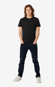Boomerang - BASIC O-NECK ORGANIC COTTON T-SHIRT - Black