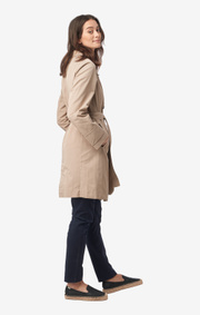 Boomerang - Alba coat - Feather beige