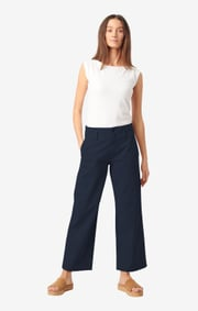 Boomerang - Frida cropped trousers - Night sky