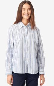 Boomerang - Aina striped shirt - Electric blue