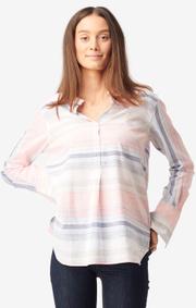 Boomerang - Clara multi stripe shirt - Pale blossom