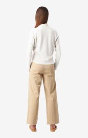 Boomerang - Sarali wrap sweater - Offwhite