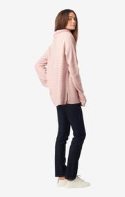 Boomerang - Daniella polo sweater - Pale blossom