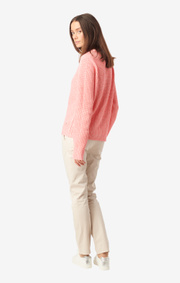 Boomerang - Leona sweater - Wild Strawberry