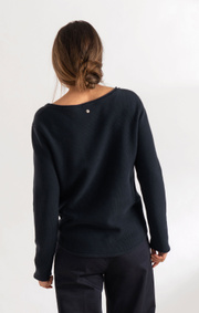 Boomerang - KNOPP SWEATER - Night sky