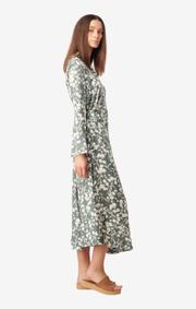 Boomerang - Maja printed skirt - Venetian green