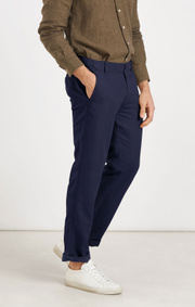Boomerang - VIGGO COTLIN PANTS - Night sky