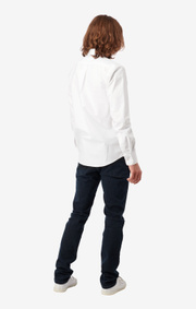 Boomerang - Nils organic oxford tailored - White