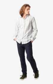 Boomerang - Sigge tailored fit shirt - Bright nautic