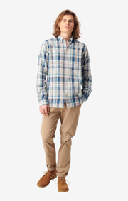 Boomerang - Malte multicheck shirt - Bright nautic