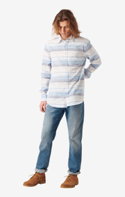 Boomerang - Frank Multistripe Shirt Tailored Fit - Bright nautic