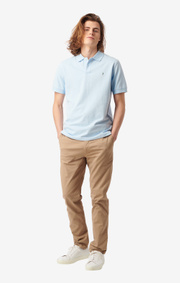 Boomerang - JOE ORGANIC COTTON POLO PIQUÉ - Skyway