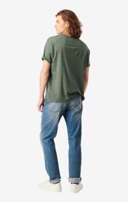 Boomerang - Jim melange t-shirt - Venetian green