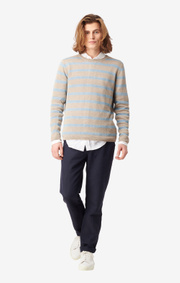 Boomerang - Axel linen sweater - Dark putty